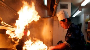 Broad appeal ... Peter Park, head chef at Doo Ri Korean barbecue restaurant in Strathfield. Its clientele is largely non-Korean.