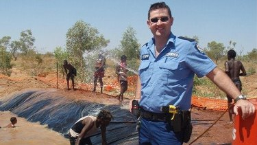 Kimberley police officer Ryan Marron contracted the disease in April last year while working at the remote North West community of Balgo.