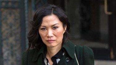 Divorced: Wendi Deng.