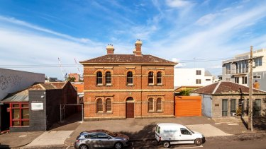 For sale: the former police station in Carlton, which was closed in 2010.