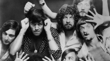 British rock band Electric Light Orchestra