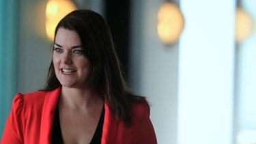 """The issues in relation to unaccompanied minors are really problematic here"" ... Sarah Hanson-Young."