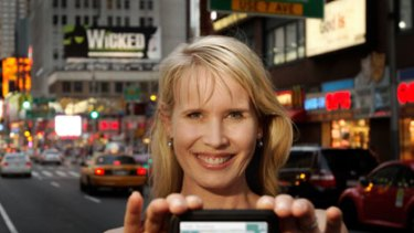 Karen Jacobsen, a Queenslander who has been living in New York for 10 years, is the voice of GPS units in Australia.