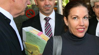 Mercedes Corby ... bashed in Bali.