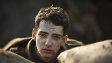 Kodi Smit-McPhee in <i>Gallipoli</i>.