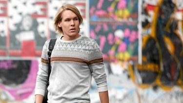 Alex Williams, who plays Julian Assange in <i>Underground</i>, won the part in his first audition after graduating from drama school.