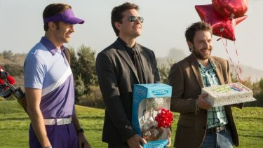 Jason Sudeikis, Jason Bateman and Charlie Day are on the other side of the desk in <i>Horrible Bosses 2</i>.