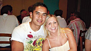 Honeymoon tragedy ... Michael Malonzo, pictured with wife Aimee, was killed in Thailand.