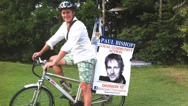 Former Blue Heelers actor Paul Bishop successfully contested the seat of Birkdale/Thorneside in Queensland's local government elections.