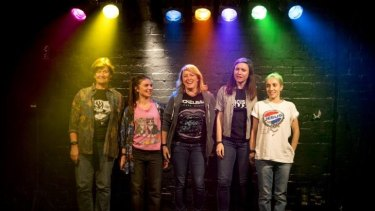 Five Briannas take the stage: the full cast of Zoe Coombs Marr's Is This Thing On?