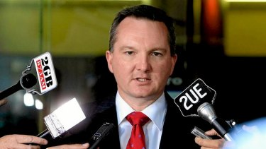 Chris Bowen keeps a keen eye on the messages coming out of the Department of Immigration.