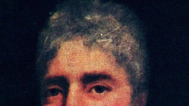 Former governor Lachlan Macquarie.