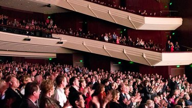 A full house at QPAC's Lyric Theatre.