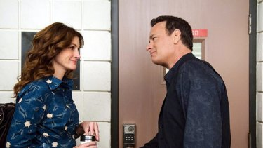 Shown the door? ... Julia Roberts and Tom Hanks failed to set the box office alight with <i>Larry Crowne</i>.