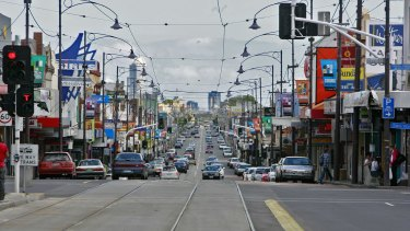 The intersection of Bell Street and Sydney Road where Merri Health has purchased a property.