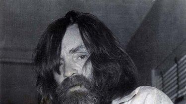 Mass murderer Charles Manson  pictured in 1981.