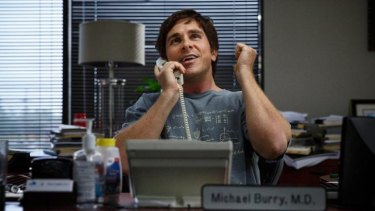 Christian Bale as the eccentric Michael Burry in <i>The Big Short</i>.