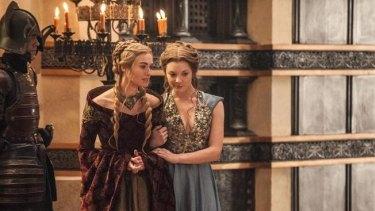 Cersei Lannister (Lena Headey) and Margaery Tyrell (Natalie Dormer).