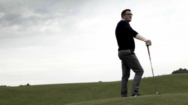 """Golf tragic"": Daniel Andrews."