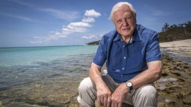 Sir David Attenborough is particularly concerned about the Great Barrier Reef.