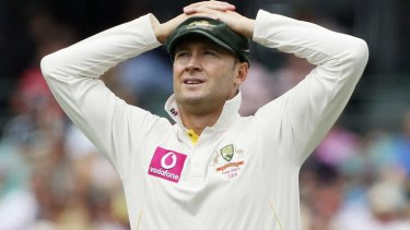 On the brink: Channel Nine could lose international cricket.