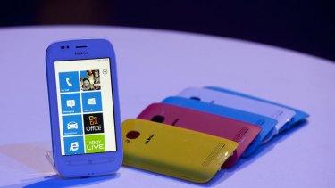 A Nokia Lumia 710.