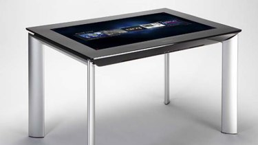 Like a giant iPad with legs...