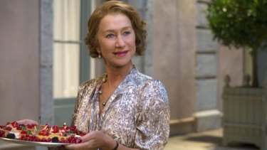 Food porn: Helen Mirren stars as Madame Mallory in <i>The Hundred-Foot Journey</i>.