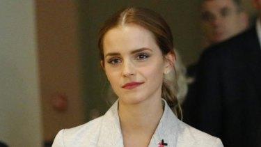 UN Women Goodwill Ambassador Emma Watson attends the HeForShe campaign launch.