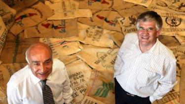 Accused of breaking agreement... Nabi Saleh and Peter Irvine.