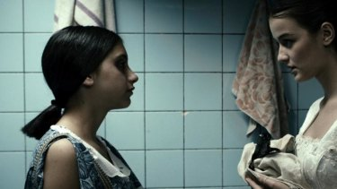 <i>In Bloom</i>: Lika Babluani and Mariam Bokeria are offered the chance to be possessed in the name of growing up.