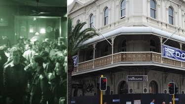The Firm once thrived in the second floor of the old Melbourne Hotel.
