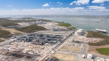 The gas industry has built massive export facilities in north Queensland.