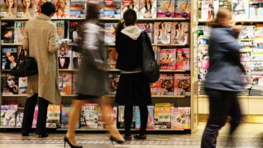 Newspapers and magazines have bore the brunt of a downturn in Australia's advertising market.