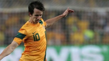 Socceroo Robbie Kruse.