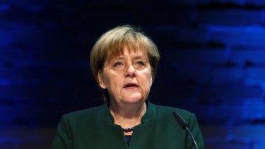 German Chancellor Angela Merkel.