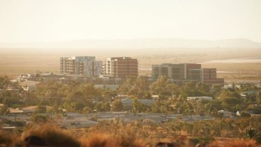 The government has struggled to sell units in the Pelago Towers complex.