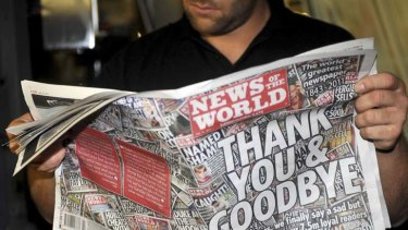 The inquiry ... was established following the phone hacking scandle involving News Corp in Britain.