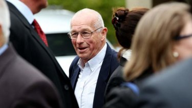 Far from the dashing Dirty Harry anti-hero: Roger Rogerson in 2013.