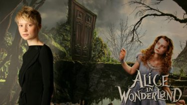 Hollywood Wonderland ... Mia Wasikowska makes a name for herself with her role in the children's classic.