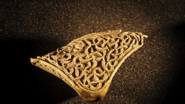A piece from the Staffordshire Hoard.