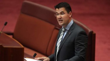 Senator Zed Seselja delivers his maiden speech in the Senate.