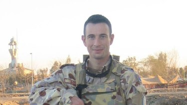 Major Paul Morgan ... the target of homophobic harrassment.