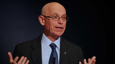 Heated criticism: Fred Hilmer, Vice Chancellor of the University of New South Wales.