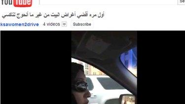 Activist Manal al-Sharif takes to the wheel