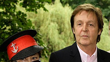 Environmental benefits ... Yoko Ono and Paul McCartney want the British to go meat-free once a week.