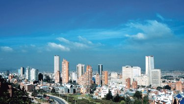 General view of Bogota,Colombia.Photograph by Bogota Tourism. SHD Travel:Sept 4:Colombia