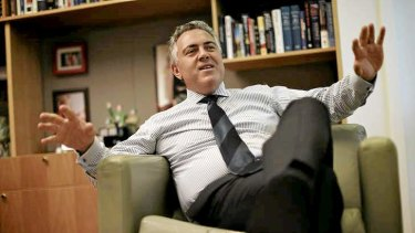 Joe Hockey at Parliament House on Thursday.