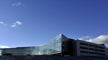 Work continues on the new ASIO Central office building Canberra.