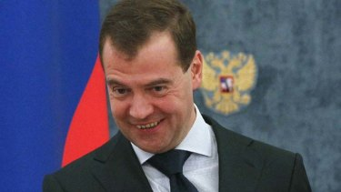 """I have given the armed forces the task of drawing up plans to destroy the information and command and control systems of the [US/NATO]"" ... Russian President Dmitry Medvedev."